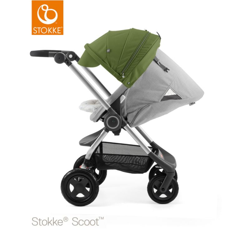 Image Stokke® Scoot™ Grey Melange - Green