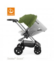 Stokke® Scoot™ Grey Melange - Green afbeelding