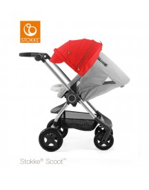 Stokke® Scoot™ Grey Melange - Red afbeelding