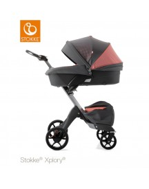 Stokke® Xplory® V5 Pack Silver - Athleisure Coral afbeelding