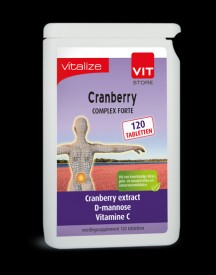 Vitalize Cranberry 120 Tabletten afbeelding