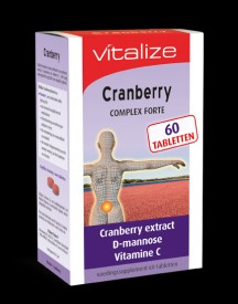 Vitalize Cranberry 60 Tabletten afbeelding