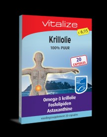 Krillolie 100% Puur - 20 Capsules Proefverpakking afbeelding