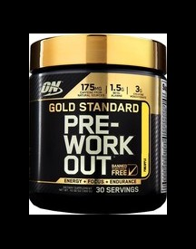 Gold Standard Pre Workout afbeelding