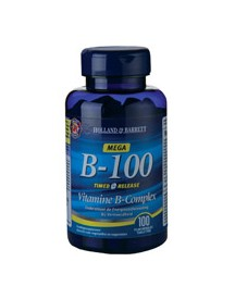 Holland & Barrett Vitamine B 100mg Timed Release afbeelding
