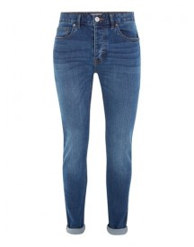 Bright Blue Wash Stretch Skinny Jeans afbeelding