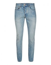 Light Blue Wash Stretch Slim Jeans afbeelding