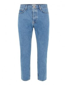 Mid Blue Wash Tapered Jeans afbeelding