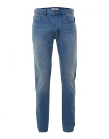 Powder Blue Stretch Slim Jeans afbeelding