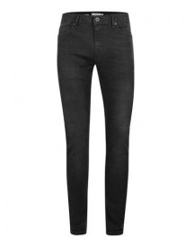 Washed Black Distressed Spray On Skinny Jeans afbeelding