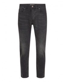 Washed Black Stretch Slim Cropped Jeans afbeelding