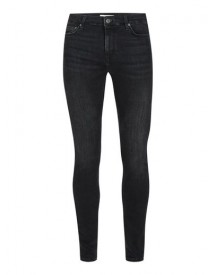 Washed Black Super Spray On Skinny Jeans afbeelding