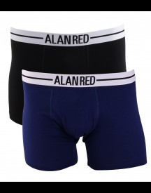 Alan Red Boxer Donkerblauw 2pack afbeelding