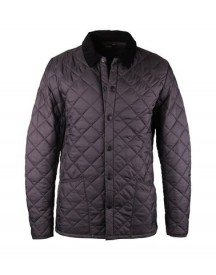 Barbour Heritage Liddesdale Quilt Charcoal afbeelding