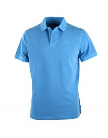 Barbour Washed Polo French Blue afbeelding