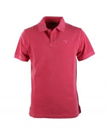 Barbour Washed Polo Fuchsia afbeelding