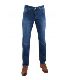 Brax Cooper Denim Jeans Blue Five Pocket afbeelding