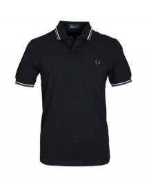 Fred Perry Polo Zwart F29 afbeelding