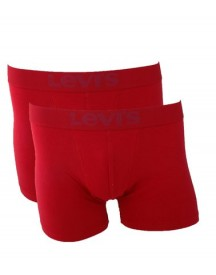 Levi's Boxershort 2-pack Rood afbeelding