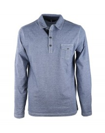 Marc O'polo Rugby Polo Blue Pocket afbeelding
