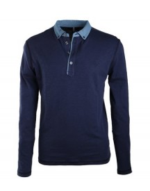 Marc O'polo Rugby Polo Donkerblauw afbeelding