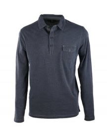 Marc O'polo Rugby Polo Navy Pocket afbeelding