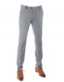 Suitable Pantalon Twill Grijs afbeelding