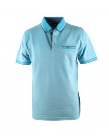 Suitable Polo Oxford Aqua afbeelding