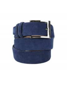 Suitable Riem Suede Navy afbeelding