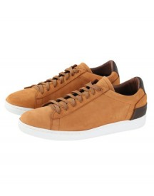 Suitable Sneaker Cognac Nubuck afbeelding
