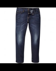 Dylan - Slim-fit Jeans In Donkerblauwe Wassing afbeelding