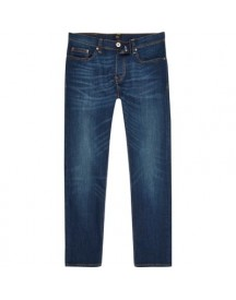 Dylan Slim-fit Jeans In Donkerblauwe Wassing afbeelding