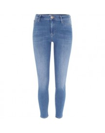 Molly - Middenblauwe Skinny-fit Jegging afbeelding