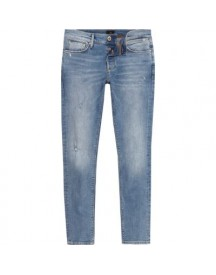 Sid - Lichtblauwe Distressed Skinny Jeans afbeelding
