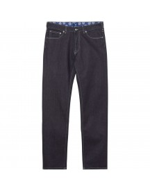 Normale, Rechte Bandana-lined Jeans afbeelding