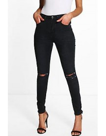 Petite Lauren High Waisted Skinny Jeans afbeelding