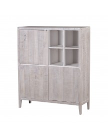 Laforma - Woody Dressoir - White Wash afbeelding