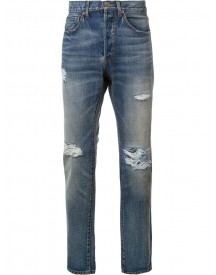 321 - Ripped Detail Jeans - Men - Cotton - 30 afbeelding