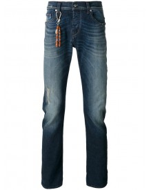 7 For All Mankind - Beaded Charm Jeans - Men - Cotton/polyester/spandex/elastane - 30 afbeelding