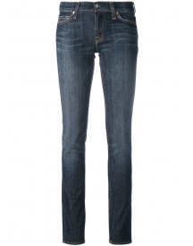 7 For All Mankind - Classic Skinny Jeans - Women - Cotton/spandex/elastane - 29 afbeelding