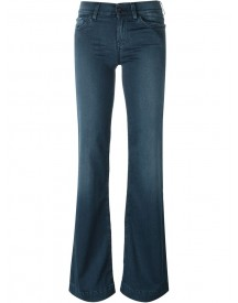 7 For All Mankind - Flared Jeans - Women - Cotton/polyester/spandex/elastane - 24 afbeelding