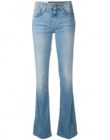 7 For All Mankind - Flared Jeans - Women - Cotton/polyester/spandex/elastane - 27 afbeelding