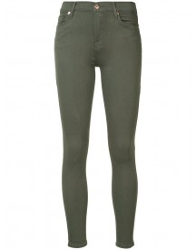 7 For All Mankind - Mid Rise Skinny Jeans - Women - Cotton/polyester/spandex/elastane/modal - 30 afbeelding