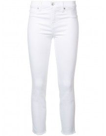 7 For All Mankind - Roxanne Jeans - Women - Cotton/polyester/spandex/elastane - 27 afbeelding