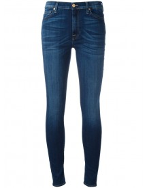 7 For All Mankind - Skinny Cropped Jeans - Women - Cotton/polyester/spandex/elastane/lyocell - 29 afbeelding