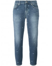 7 For All Mankind - Straight Cropped Jeans - Women - Cotton/polyester/spandex/elastane - 30 afbeelding