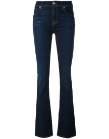 7 For All Mankind - Tapered Jeans - Women - Cotton/polyester/spandex/elastane/lyocell - 25 afbeelding
