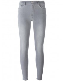 7 For All Mankind - The Skinny Jeans - Women - Cotton/polyester/spandex/elastane/modal - 30 afbeelding