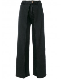 Aalto - Cropped Flare Jeans - Women - Cotton - 36 afbeelding