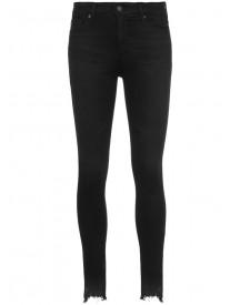 Ag Jeans - High-rise Skinny Jeans - Women - Cotton - 24 afbeelding